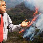 """Peñalosa asegura que """"solo un 10% del área quemada se puede considerar bosque"""""""