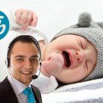 Call center de ETB bate récord suramericano de bebés despertados