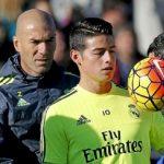 Es oficial: James ingresa a friendzone de Zidane