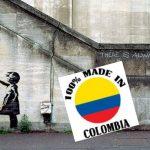 Niña de grafiti de Banksy también es colombiana