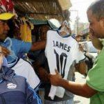 Real Madrid conservaría a James para no perder mercado de camisetas piratas
