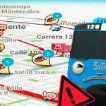 Waze incluye ícono de SITP varado para Bogotá