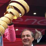 Presidente de Fedeciclismo apuesta por Nibali en polla de la oficina