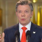 Santos invita a todos los colombianos a trabajar por la paz (por prestación de servicios)