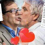 Pelea en redes de Petro y Peñalosa termina en candente beso