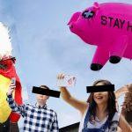 #Cerfie, la moda de tomarse fotos con un cerdo
