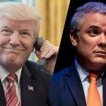 Trump lleva tres días llamando a Duque a colgar