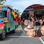 Caravana de Uribes-Tías llega al Ubérrimo a contagiarse de Covid