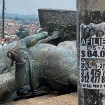 Exigen planilla y pago de ARL para poder derribar estatuas