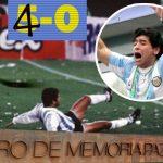 En honor a Maradona, Centro de Memoria Histórica eliminará un gol del 5 a 0