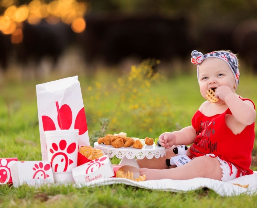 Baby Portrait by Waco Photographer Heather Rust