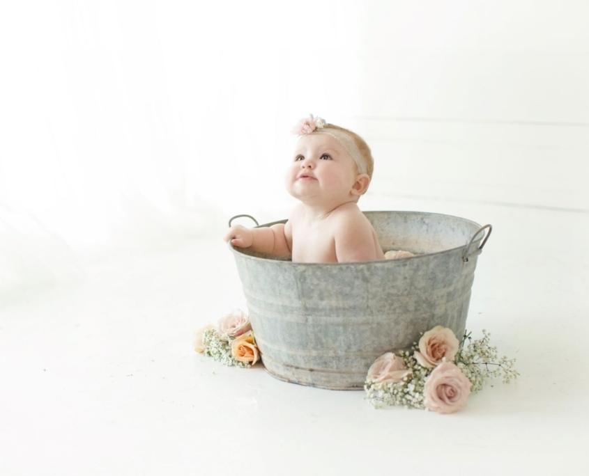 Infant photo session