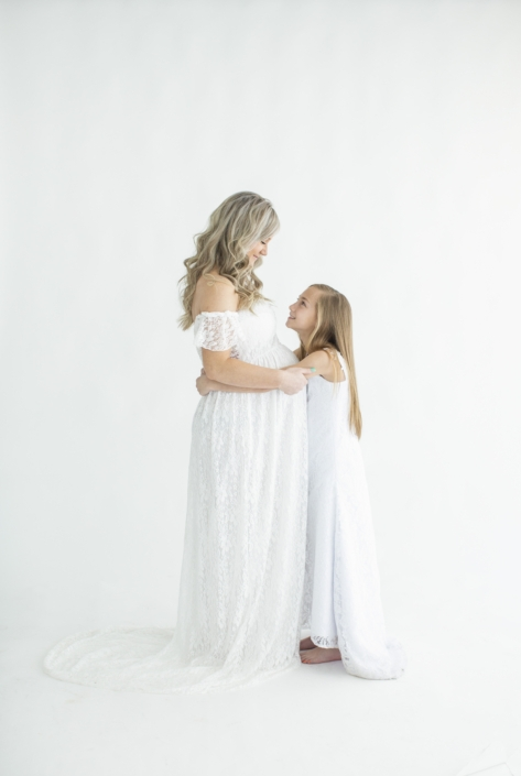 Waco Maternity session with daughter