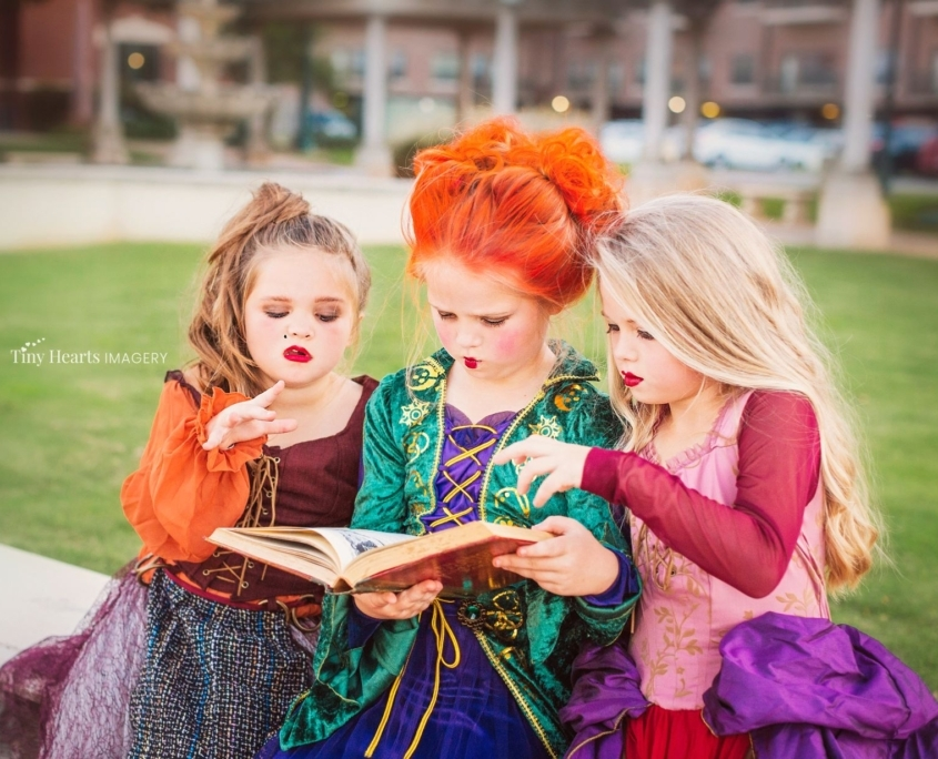 Halloween little witches