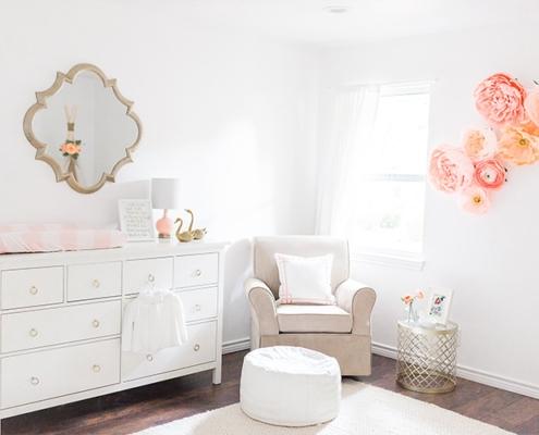 Baby girl nursery design tips