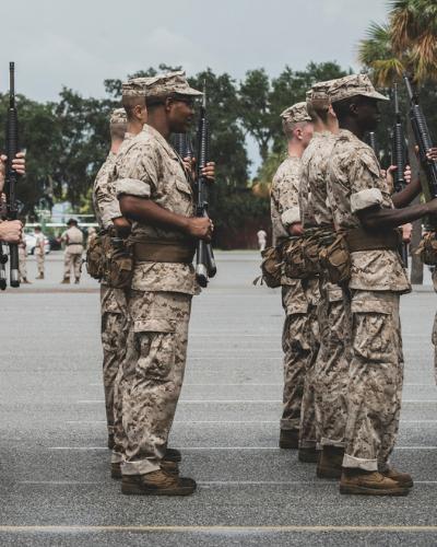 military company