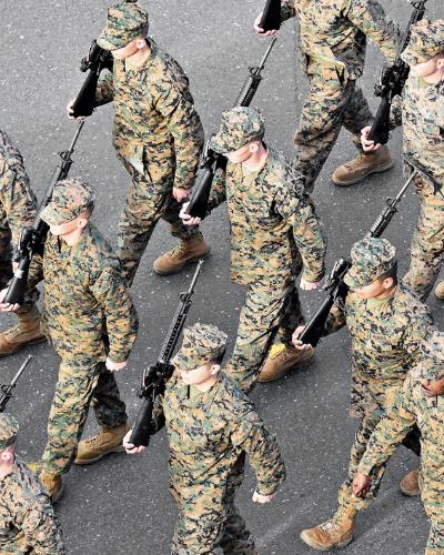 military platoon