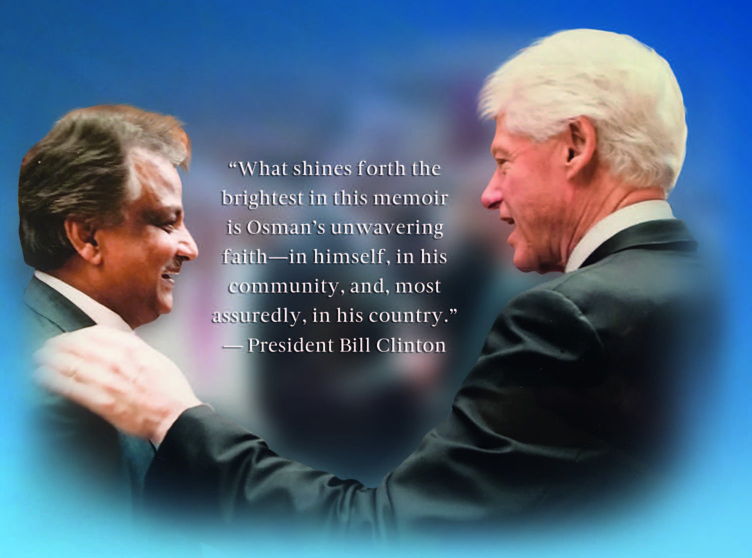 Picture of Bill Clinton with American Politican with Bangladesh-Roots - Osman Siddique