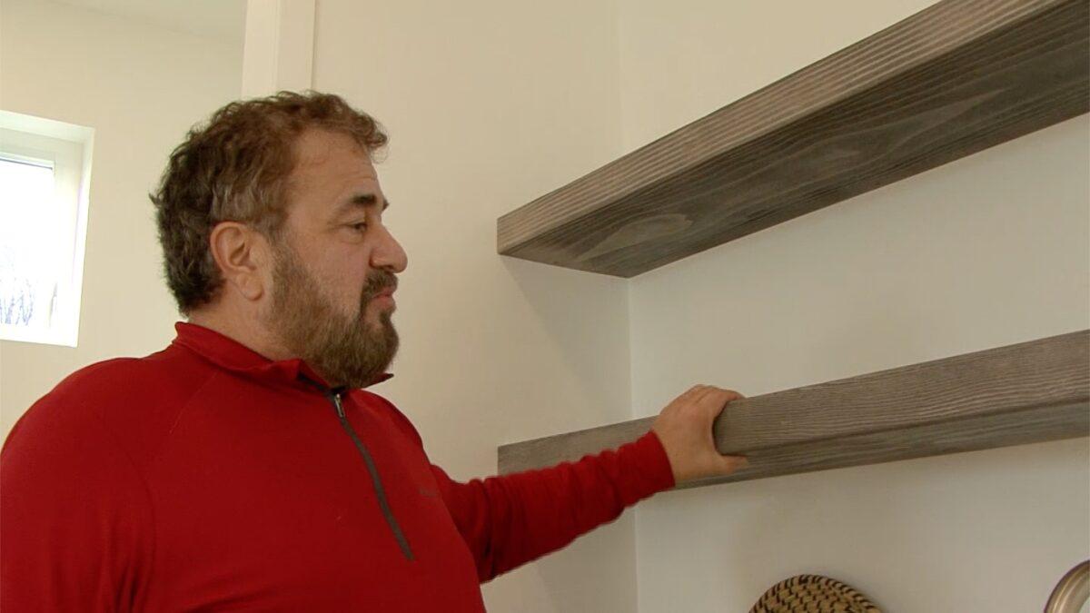 John talking still shelves