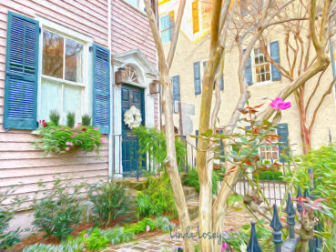 Pink House 120 Jigsaw Puzzle