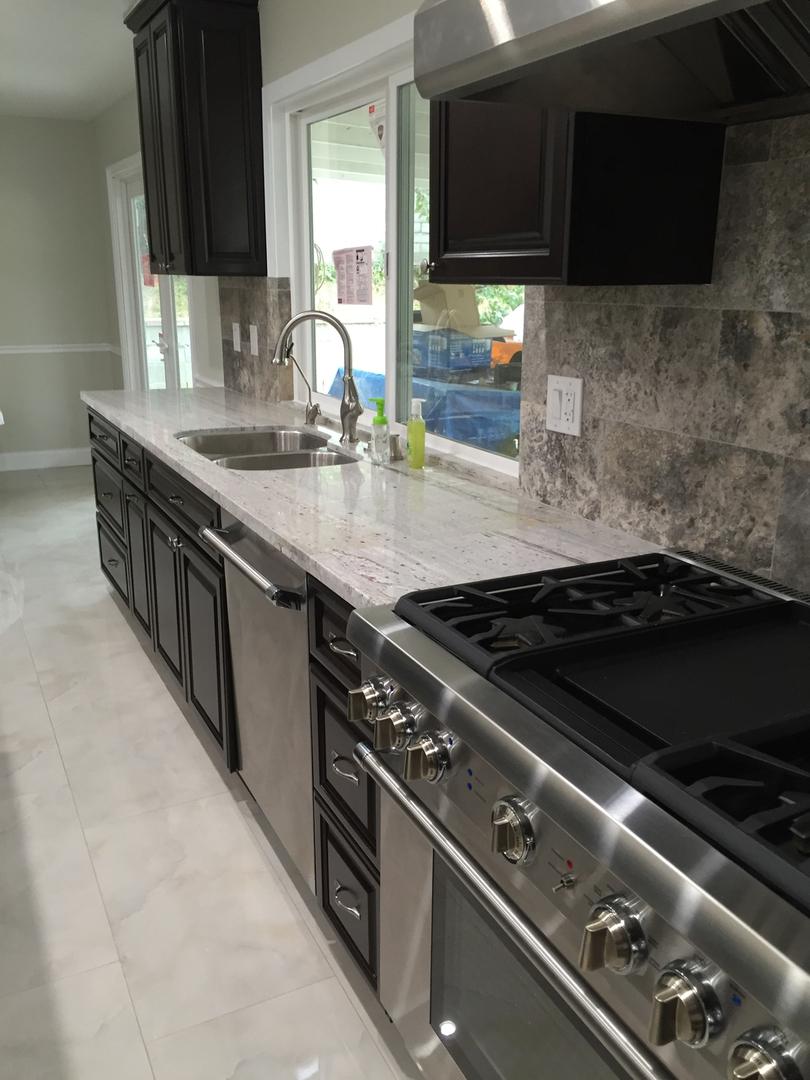 Elegant kitchenElegant kitchen area area