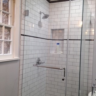 Pasadena shower walls