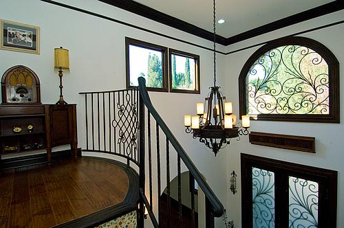 Second floor of a house