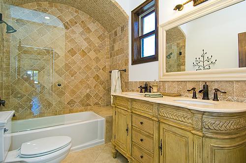 Calabasas guest bathroom