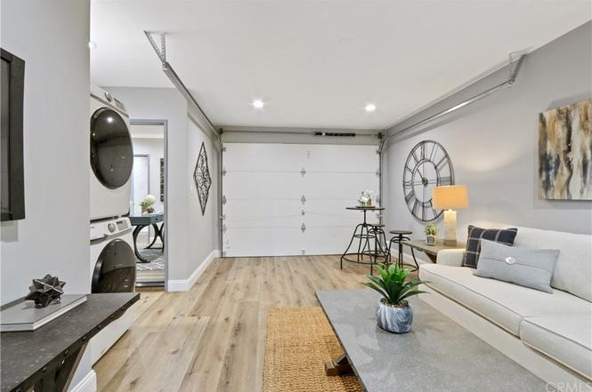 Garage conversion to family room