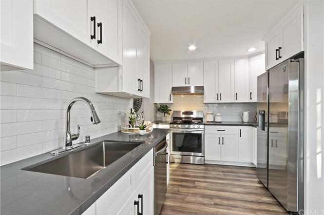 White kitchen area