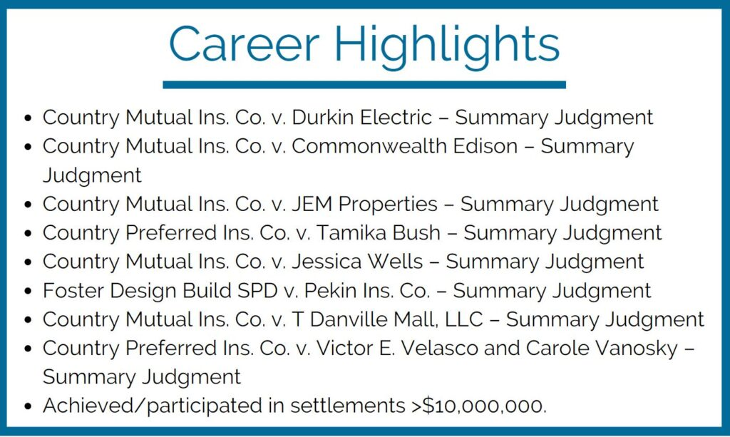 Career Highlights, Jeff Bier, Personal Injury Attorney