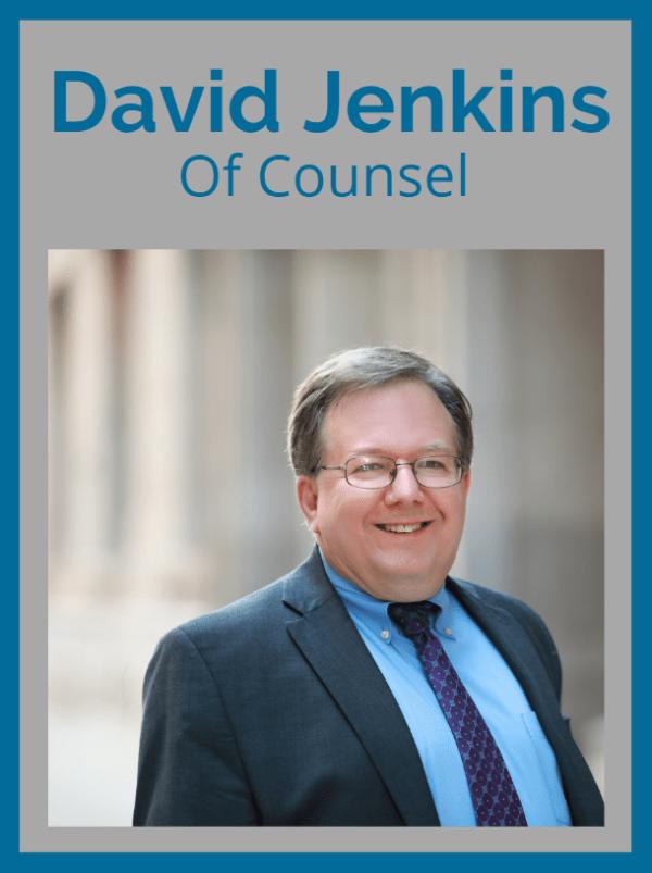 David Jenkins, Of Counsel at Carlson Bier Associates