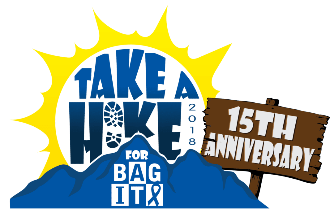 Thank you for helping to raise over $38,000 at the 15th Annual Take a Hike for BAG IT​