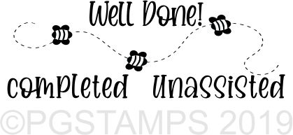 BEE 5 - Self inking teacher stamp