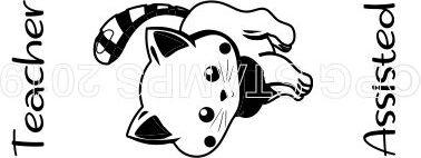 CAT 10 - Teacher Assisted teacher stamp