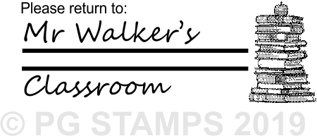 NT 14 - Customised return to classroom stamp