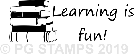 NT 19 - Learning is fun stamp