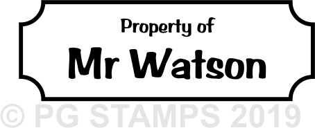 NT21 - Customised property of stamp