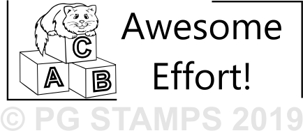 NT 26 - Awesome Effort stamp
