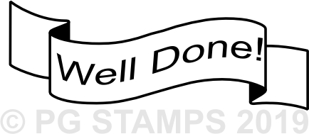 NT 7 - Well Done teacher stamp