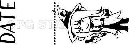 WIZARD 6 - Self inking teacher stamp