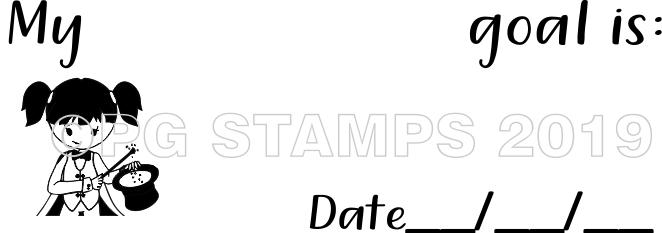 WIZARD 31 - Goal setting teacher stamp