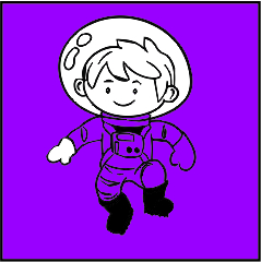 Astronaut Customised teacher stamps