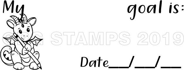 DRAGON 3 -Goal Setting teacher stamp
