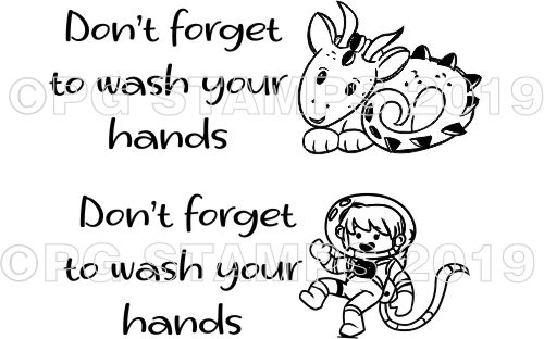 HEALTH & SAFETY 5 - WASH YOUR HANDS UNPERSONALISED