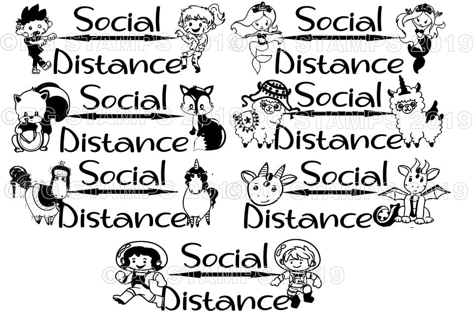 HEALTH AND SAFETY 6 - Social Distance