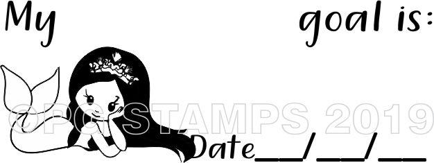 MERMAID 4 - Goal setting teacher stamp