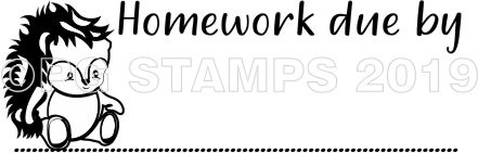 WOODLAND 3 - Homework Due teacher stamp