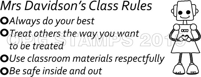 HEALTH & SAFETY 8 - Class Rules 2