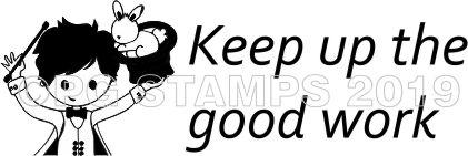 WIZARD 5 - Self inking teacher stamp